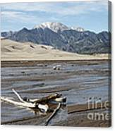 Great Sand Dunes Two Canvas Print