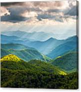 Great Smoky Mountains National Park Nc Western North Carolina Canvas Print