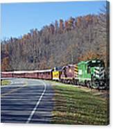 Great Smoky Mountains Railroad #777 4 Canvas Print