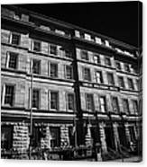 Great Southern Hotel Originally The Railway Hotel Built In 1845 On Eyre Square Galway City County Galway Republic Of Ireland Canvas Print