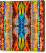 Great Spirit Abstract Pattern Artwork By Omaste Witkowski Canvas Print