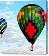Great Texas Balloon Races Canvas Print