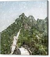 Great Wall 0033 - Light Colored Pencils Sl Canvas Print