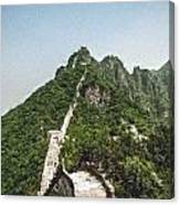 Great Wall 0033 - Pastel Chalk 2 Sl Canvas Print