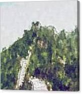 Great Wall 0033 - Plein Air 2 Sl Canvas Print