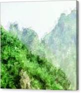 Great Wall 0043 - Academic Canvas Print