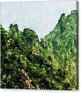 Great Wall 0043 - Pastel Pencils Hp Canvas Print