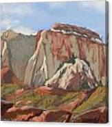 Great White Throne Vista Canvas Print