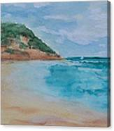 Grecian Sea Canvas Print
