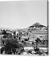 Greece Athens Agora Canvas Print