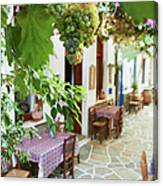 Greece, Cyclades Islands, Kythnos Canvas Print