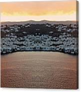 Greece Double Vision #154 Canvas Print