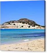 Greece-elafonissos Canvas Print