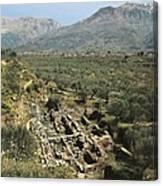 Greece. Peloponnese. Laconia. Sparta Canvas Print