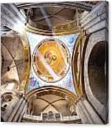 Greek Chapel Canvas Print