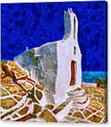 Greek Church 5 Canvas Print
