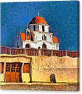 Greek Church 7 Canvas Print