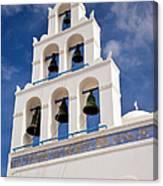 Greek Church Bells Canvas Print