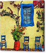 Greek Corner 1 Canvas Print
