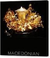 Greek Gold - Macedonian Gold Canvas Print