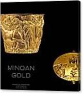 Greek Gold - Minoan Gold Canvas Print