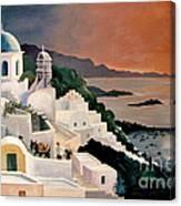 Greek Isles Canvas Print