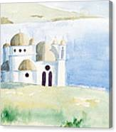 Greek Orthodox Church 2 Canvas Print
