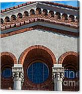 Greek Orthodox Church Arches Canvas Print