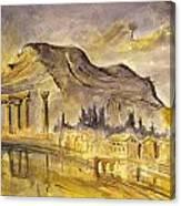 Greek Ruins Canvas Print