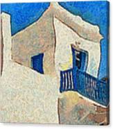 Greek Village 27 Canvas Print