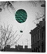 Green Balloon Canvas Print