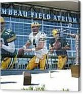 Green Bay Packers Lambeau Field Canvas Print