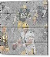 Green Bay Packers Legends Canvas Print
