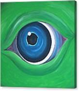 Green Beast Canvas Print