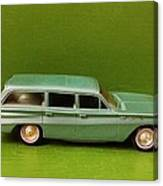 Green Buick Station Wagon Canvas Print