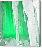 Green Cave Canvas Print