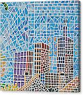 Green City In The Sun Canvas Print