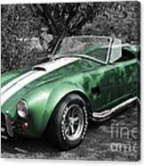 Green Cobra Canvas Print