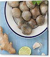 Green Curry, Coconut, Garlic & Ginger Canvas Print