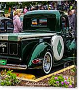 Green Dream Ford Canvas Print