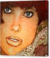 Green Eyed Redhead IIi Canvas Print