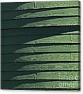 Green Facade Canvas Print