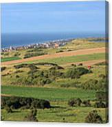 Green Fields Of  France  Canvas Print
