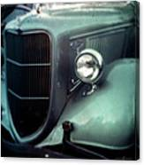 Green Ford Canvas Print