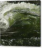 Green Glass Canvas Print