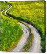 Green Green Grass Of Home Canvas Print