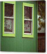 Green House Canvas Print