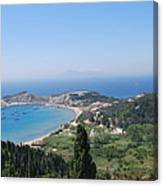 Green Island Erikousa Canvas Print