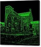 Green Kirk Canvas Print