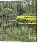 Green Lake Canvas Print